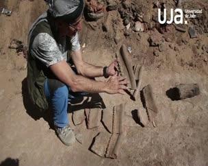 Quinta semana de trabajos arqueológicos en la necrópolis de Qubett el-Hawa en Asuán (Egipto)