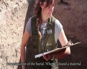 3ª semana de trabajos arqueológicos en la necrópolis de Qubbet el Hawa (Asuán, Egipto).
