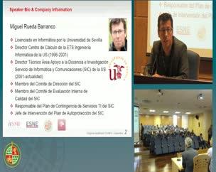 Gestión TI en la Universidad de Sevilla
