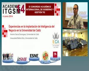 Experiencias en la implantación de inteligencia del Negocio  en la Universidad de Cádiz
