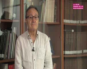 Pedro Galera en la Noche de los Investigadores