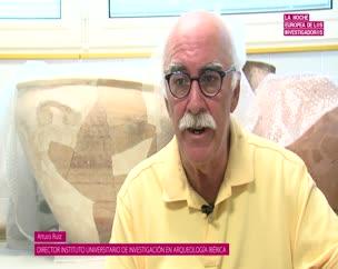 Arturo Ruiz lleva la arqueología 3D a la Noche