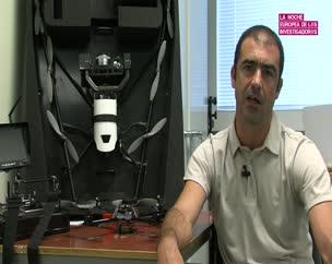 La UJA explica el funcionamiento de los vehículos aéreos no tripulados en la Noche