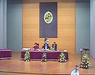 Clausura del curso de Postgrado de la Universidad de Jaén