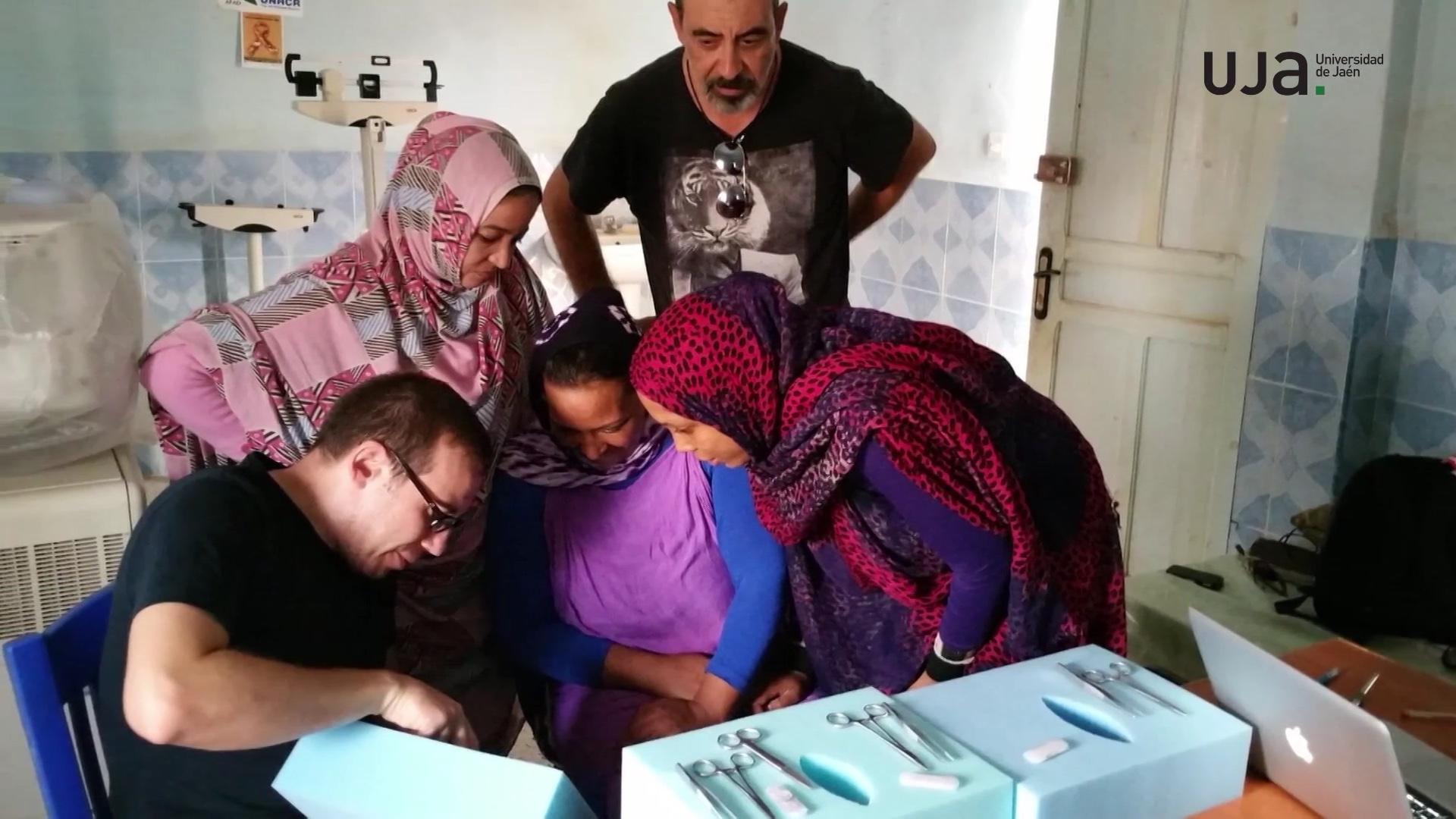 Mejora de la formación de matronas en los campamentos saharauis