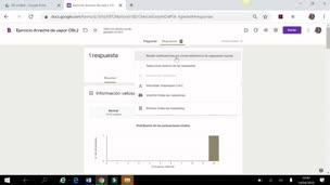 Cómo utilizar Google Forms para hacer exámenes (4/5). Análisis de respuestas