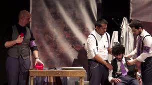 ENATU  2016. La doble historia del Doctor Valmy, por In Vitro-Teatro de la UJA