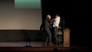 ENATU  2017. La Fundación, por el Aula de Teatro / Compañía itinerante Deletreartes de la Universidad de Murcia