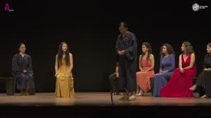 ENATU  2019. Antígona frente a los jueces, por Mamadou Teatro