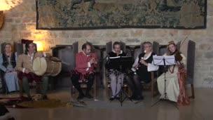 Actuación de Syntagma Musicum (Castillo de Santa Catalina, Jaén, 2016)