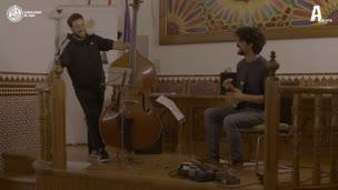 Concierto de jazz  a cargo de  Javier Moreno Sánchez (contrabajo) y Francesco Diodati (guitarra)