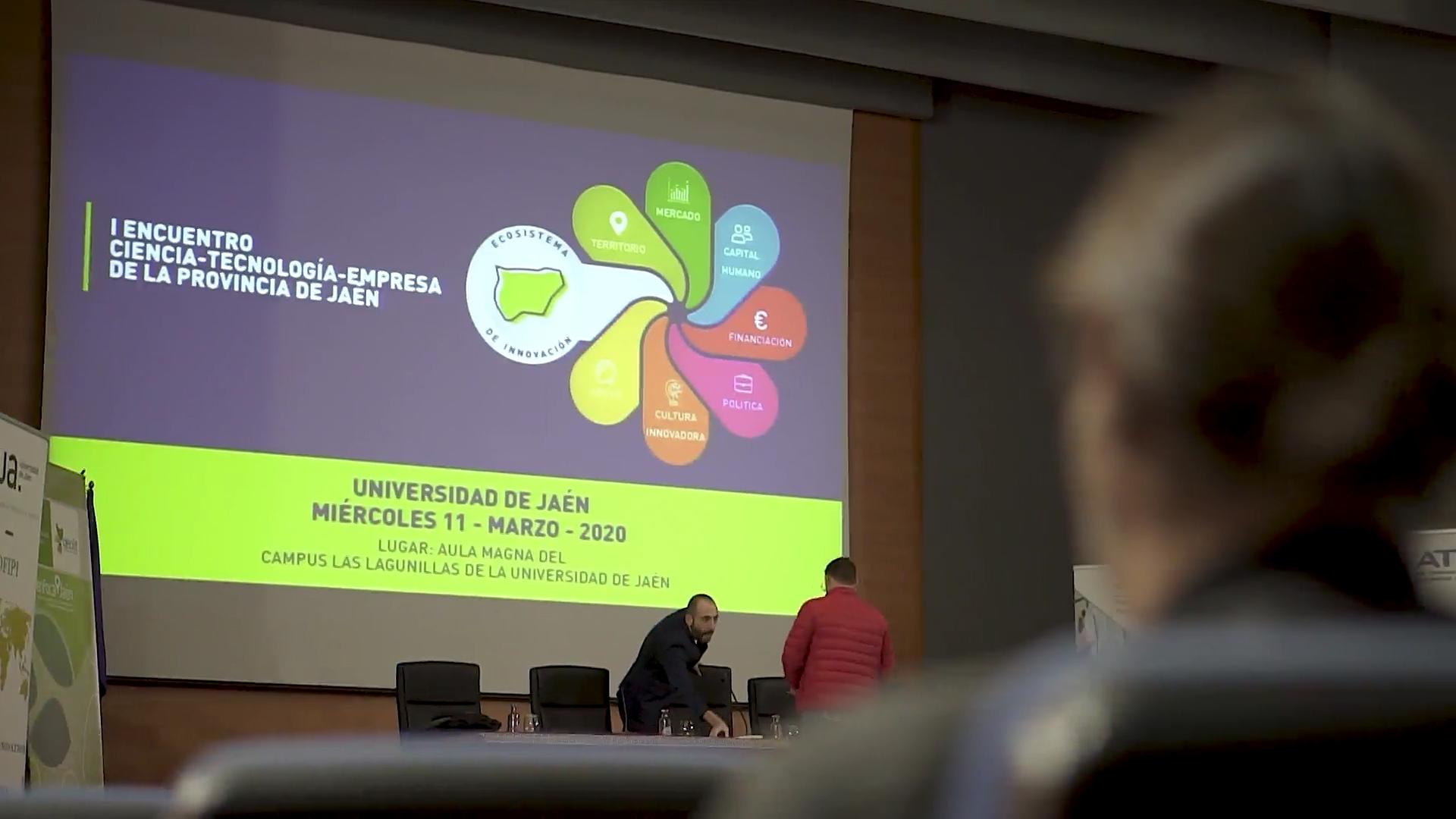 I Encuentro Ciencia-Tecnología-Empresa de la provincia de Jaén