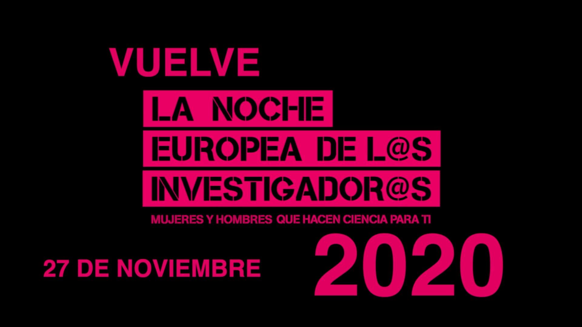 Spot Noche Europea de los Investigadores 2020