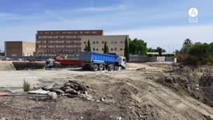 Obras de nuevos edificios